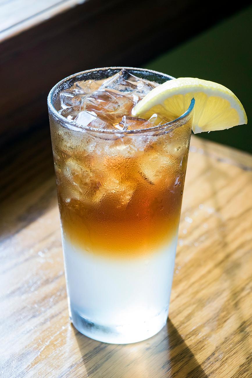 Long Island Iced Tea made with homemade sour mix{ }/ Image: Allison McAdams // Published: 10.21.18