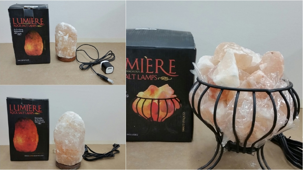 Salt Lamps Cause Fire : CPSC: Pink rock salt lamps sold at Michaels recalled over possible shock, fire hazard WBFF