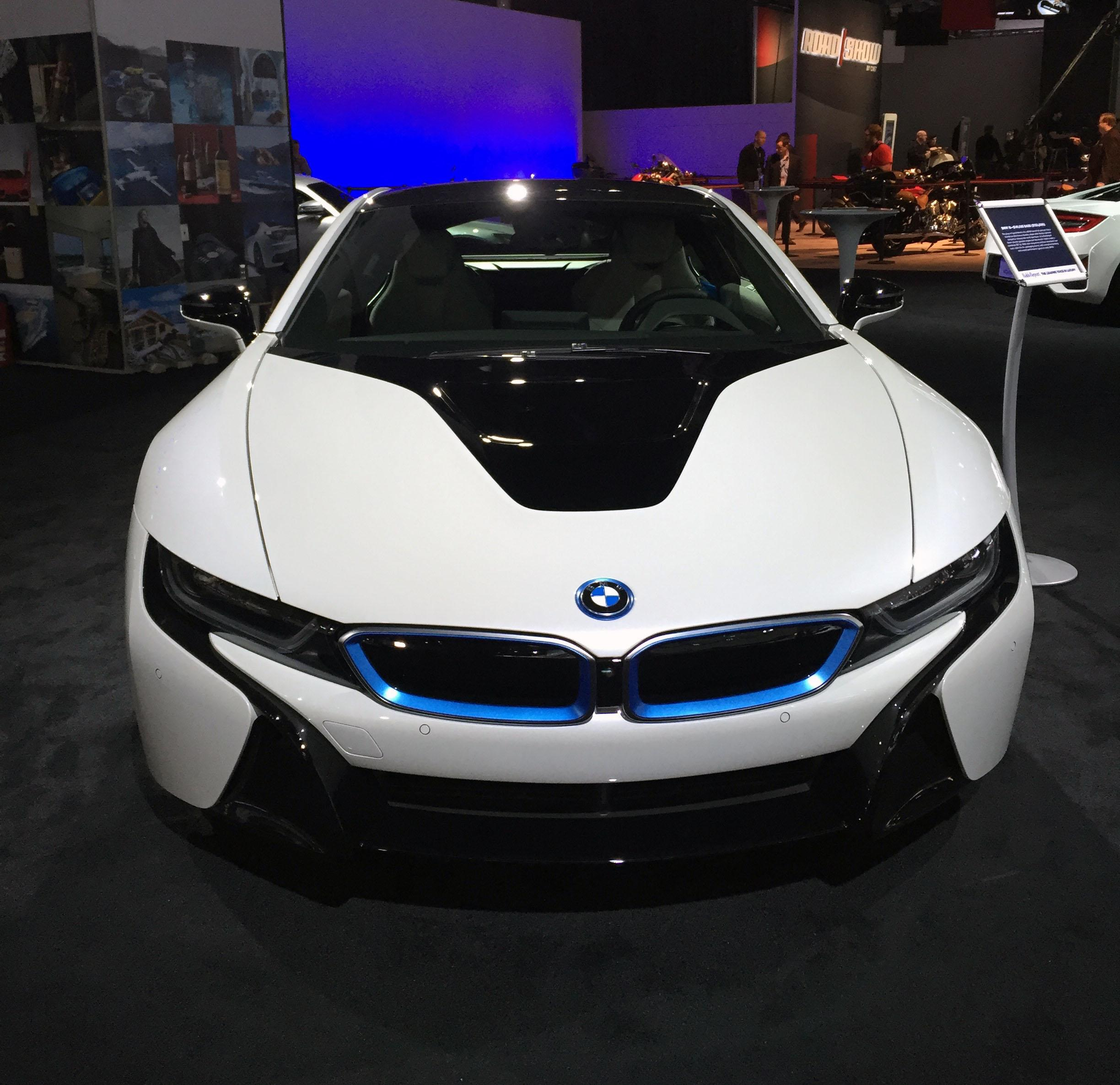 BMW i8 (Photo by Jill Ciminillo)