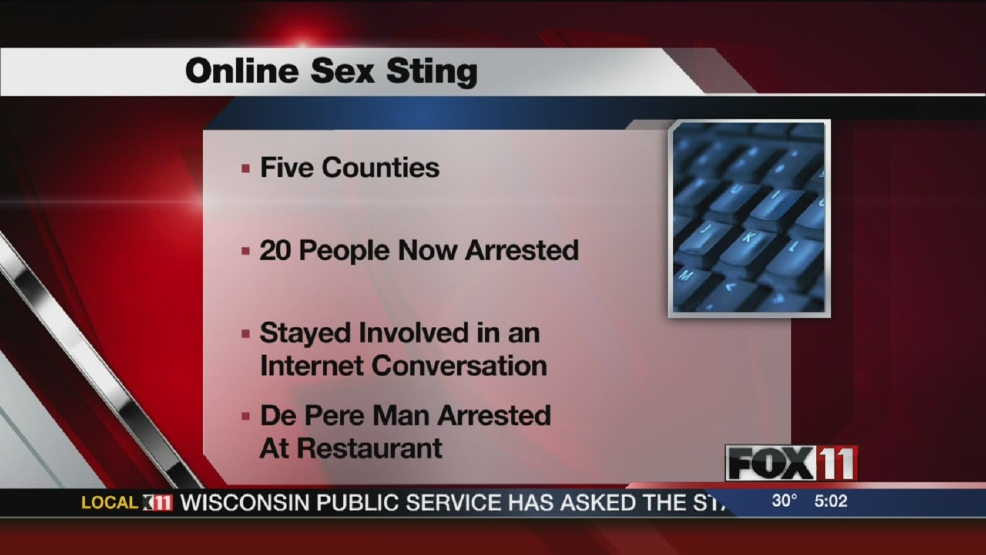 20th man arrested in Internet sex sting