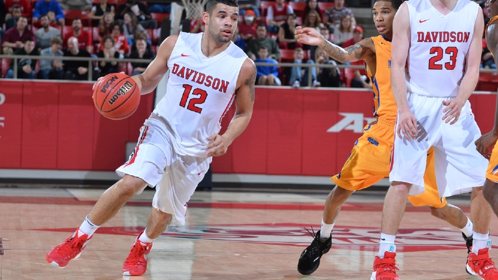 NCAA BASKETBALL:  DEC 23 Morehead State vs Davidson
