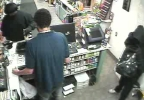 Surveillance image from the April 9, 2014 robbery of the Taylor St. BP in Howard. (Brown Co. Sheriff's Office)