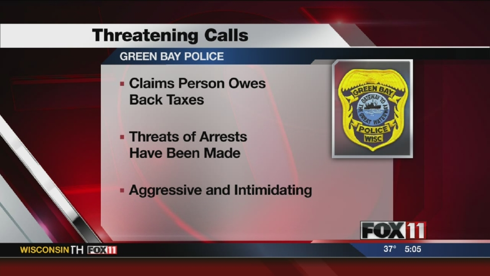 Green Bay police warn of fake IRS agents
