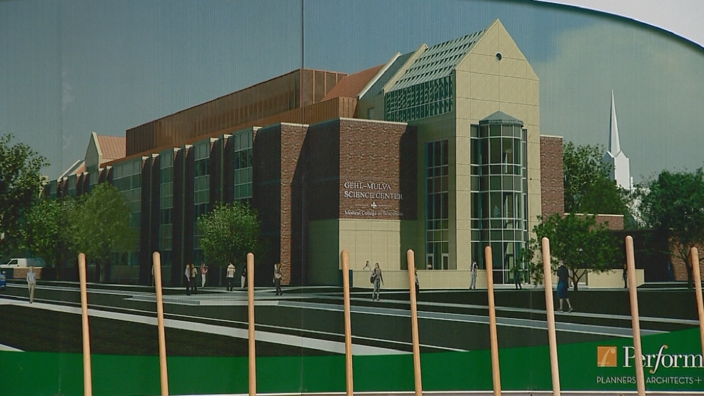 The future Medical College of Wisconsin-Green Bay campus will be housed in the re-vamped science center at St. Norbert College.