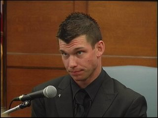 Michael McCloskey testifies before a jury, Tuesday, May 11, 2010.