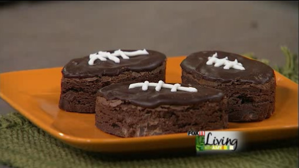 football brownie