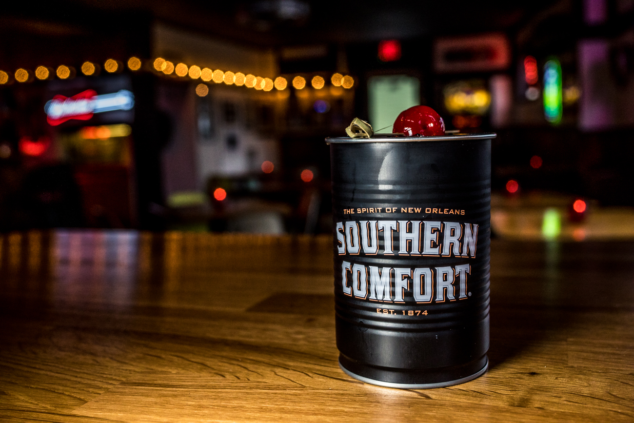 The All American: Old Bardstown, Southern Comfort, coke, and cherry / Image: Catherine Viox{ }// Published: 2.13.20