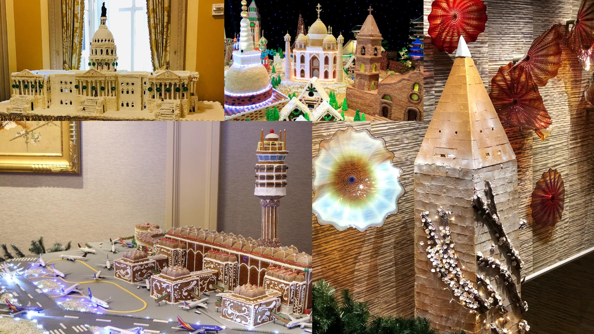 Let's be honest, the holiday season can't truly start until you've seen at least one giant, over-the-top gingerbread display! Luckily for you, we have four for you to check off your list this year! (Courtesy Images)