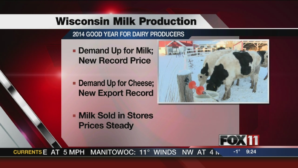 Wis dairy farmers enjoying rare price boom