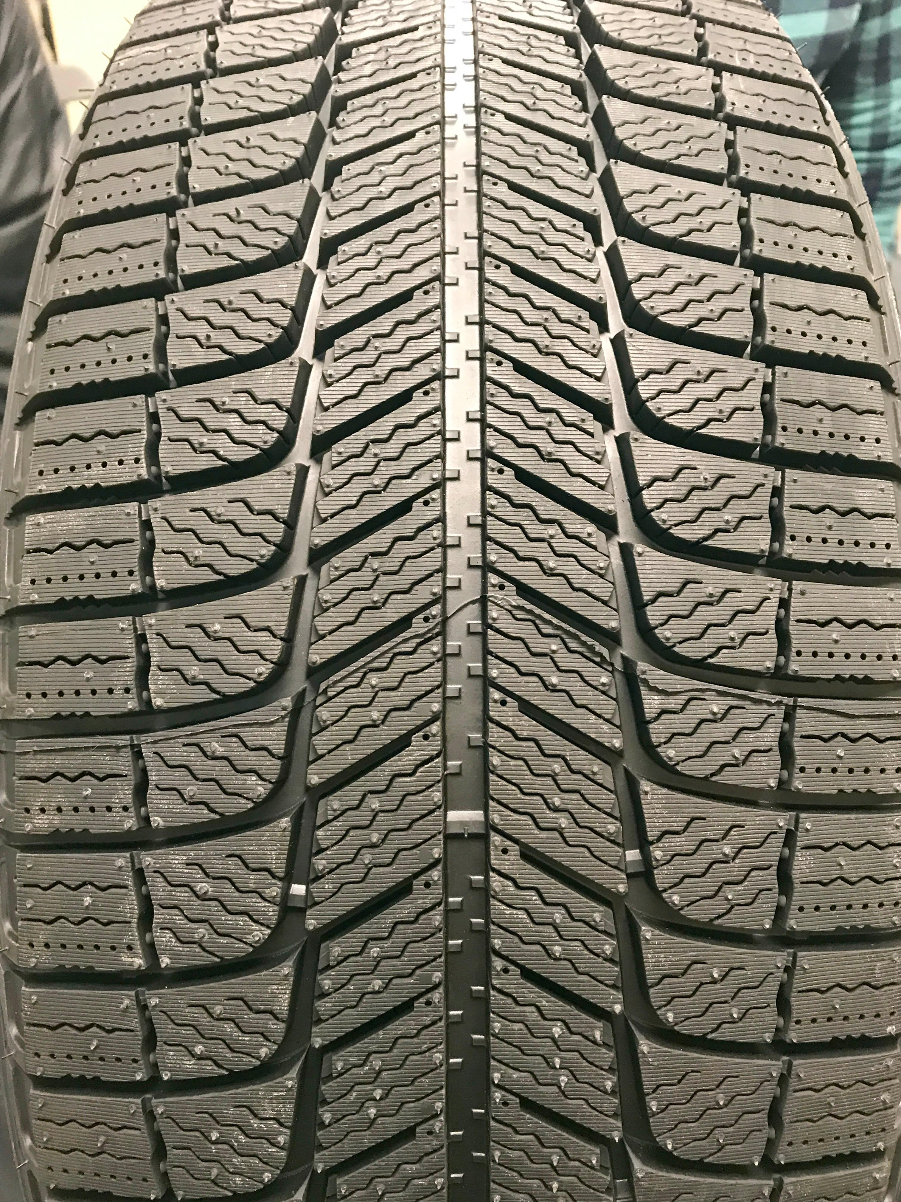 Grooves and sipes on Michelin winter tires (Sinclair Broadcast Group / Jill Ciminillo)