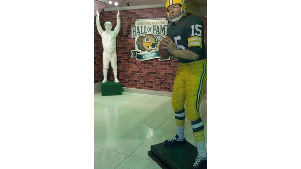 Green Bay Packers Hall of Fame at the Neville Public Museum. (WLUK/Emily Deem)
