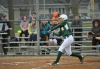 Green Bay Preble's Chelsea Conard takes a swing against Ashwaubenon during their game Friday. (Doug Richay/WLUK)