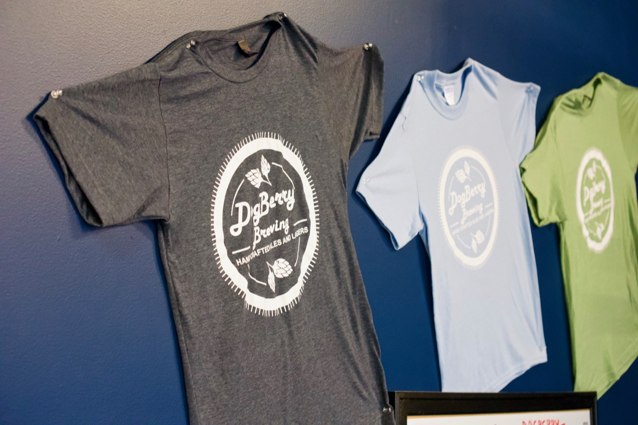 You can buy a DogBerry shirt to take home and wear the next time you visit! / Image: Brian Planalp // Published: 1.7.19