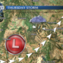 Light snow tonight, larger storm Thursday