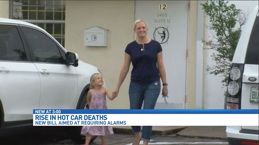 New push to prevent child hot car deaths. (WPEC)