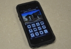 The Appleton Police Department's smartphone app, Feb. 14, 2014. (WLUK/Scott Hurley)