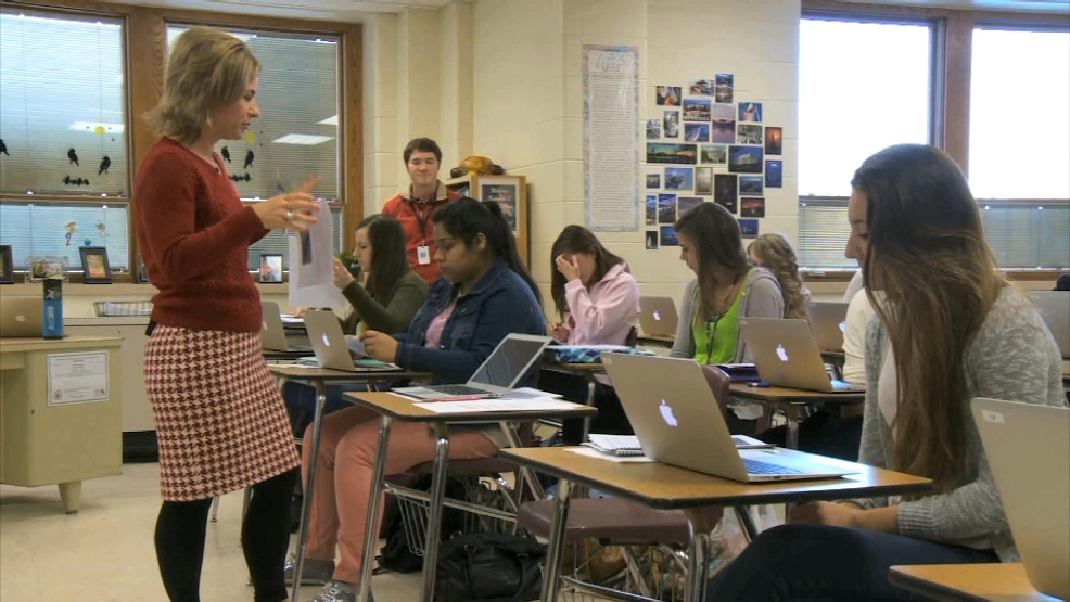 Preble English teacher Kelly Suda says it's her first Golden Apple win, but second nomination.