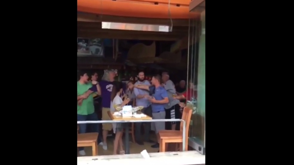 New video of dispute between Rex & Rob Ryan with patron at