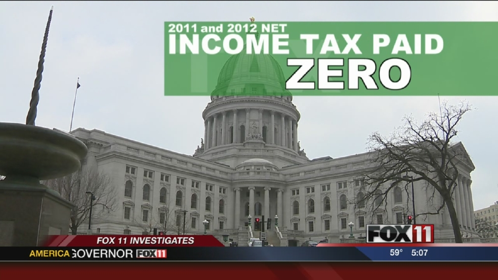 FOX 11 Investigates: Many corporations pay no state income tax
