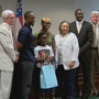 Milledgeville boy who helped woman up steps honored by Baldwin Co. commission