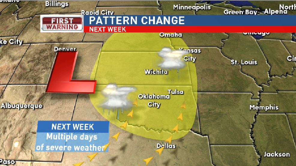 Quiet weekend, severe weather next week