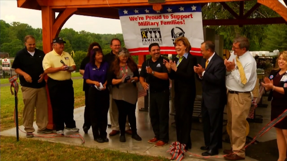 New pavilion at Charles George VA Medical Center gives patients ... - WLOS 1