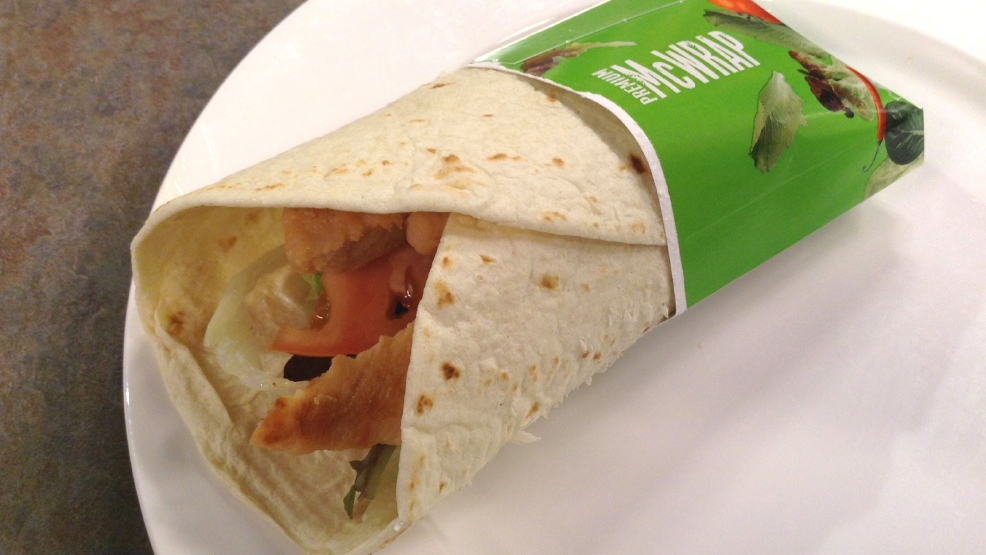 McWrap Chicken and Ranch