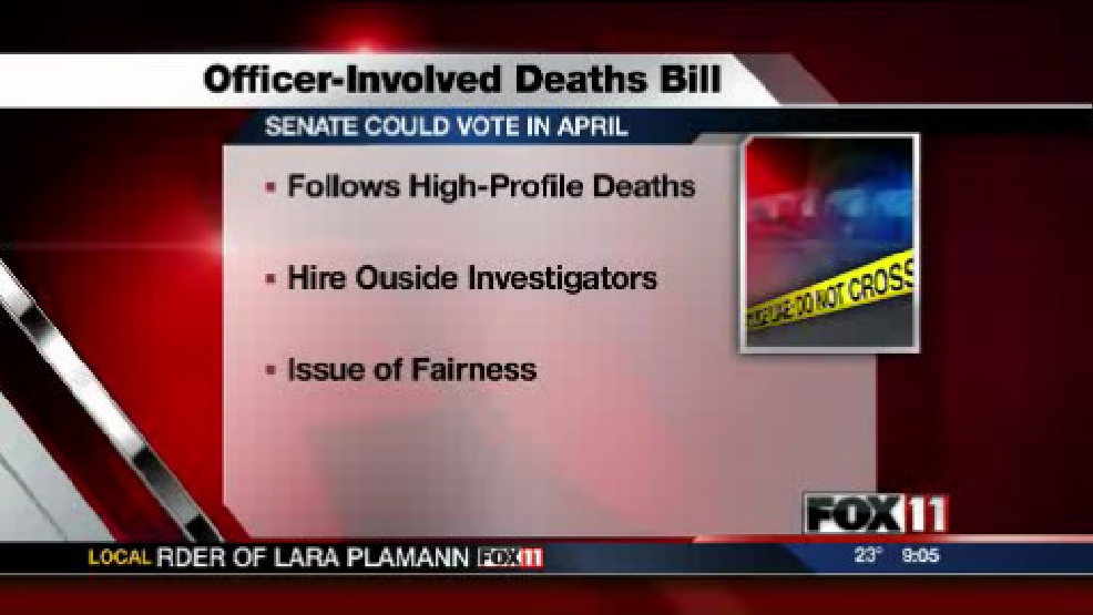 officer involved deaths