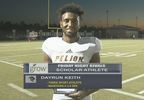 Dayrun Keith - Scholar Athlete