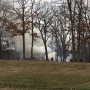 Afternoon fire tears through Heartland home