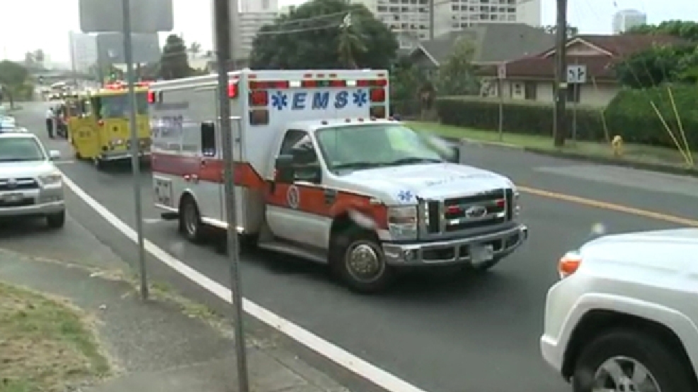 Honolulu police were called to Roosevelt High School after shots were fired on Tuesday, Jan. 28, 2014. (Source: KHON2.com)
