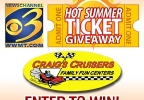 Hot Summer Ticket Giveaway - Craig's Cruisers