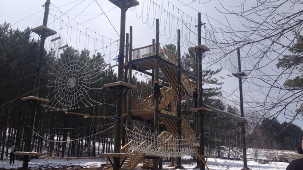 The Adventure Park at the NEW Zoo in Suamico is seen, April 15, 2014. (WLUK/Bill Miston)