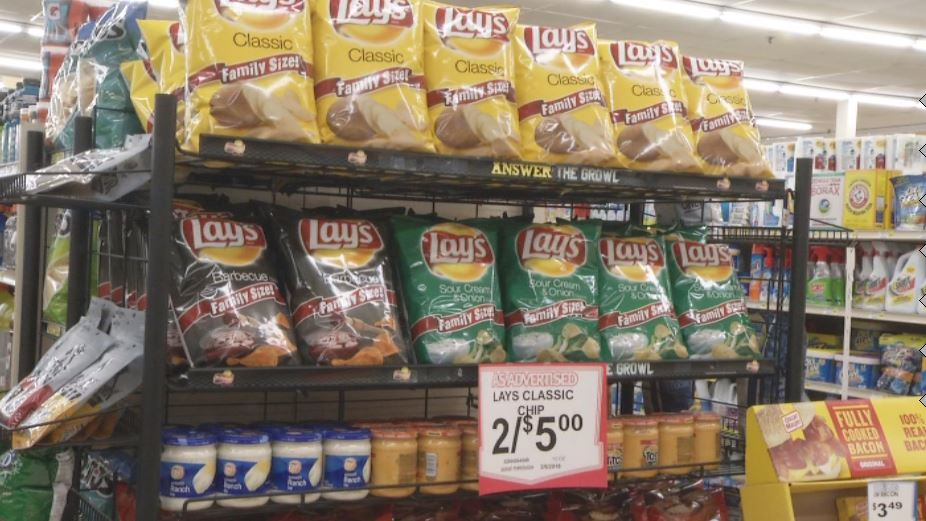 29 million pounds of chips will be eaten. (KRCG 13)