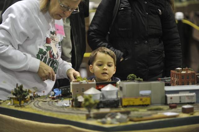 The Rogue Valley Railroad Show is held at the Jackson county Expo on Saturday. - Jamie Lusch