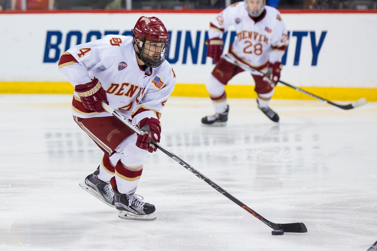 March 27, 2016: Denver Pioneers vs Ferris State