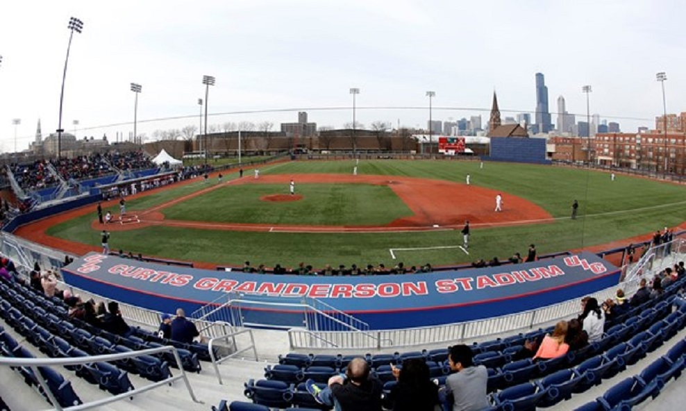Curtis Granderson Stadium opened on April 16, 2014. (Courtesy UIC Flames Athletics)