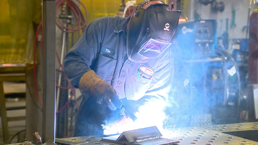 Welder at Jay Manufacturing