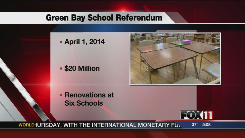 Both Sides: Taxpayers association and Green Bay school district on referendum