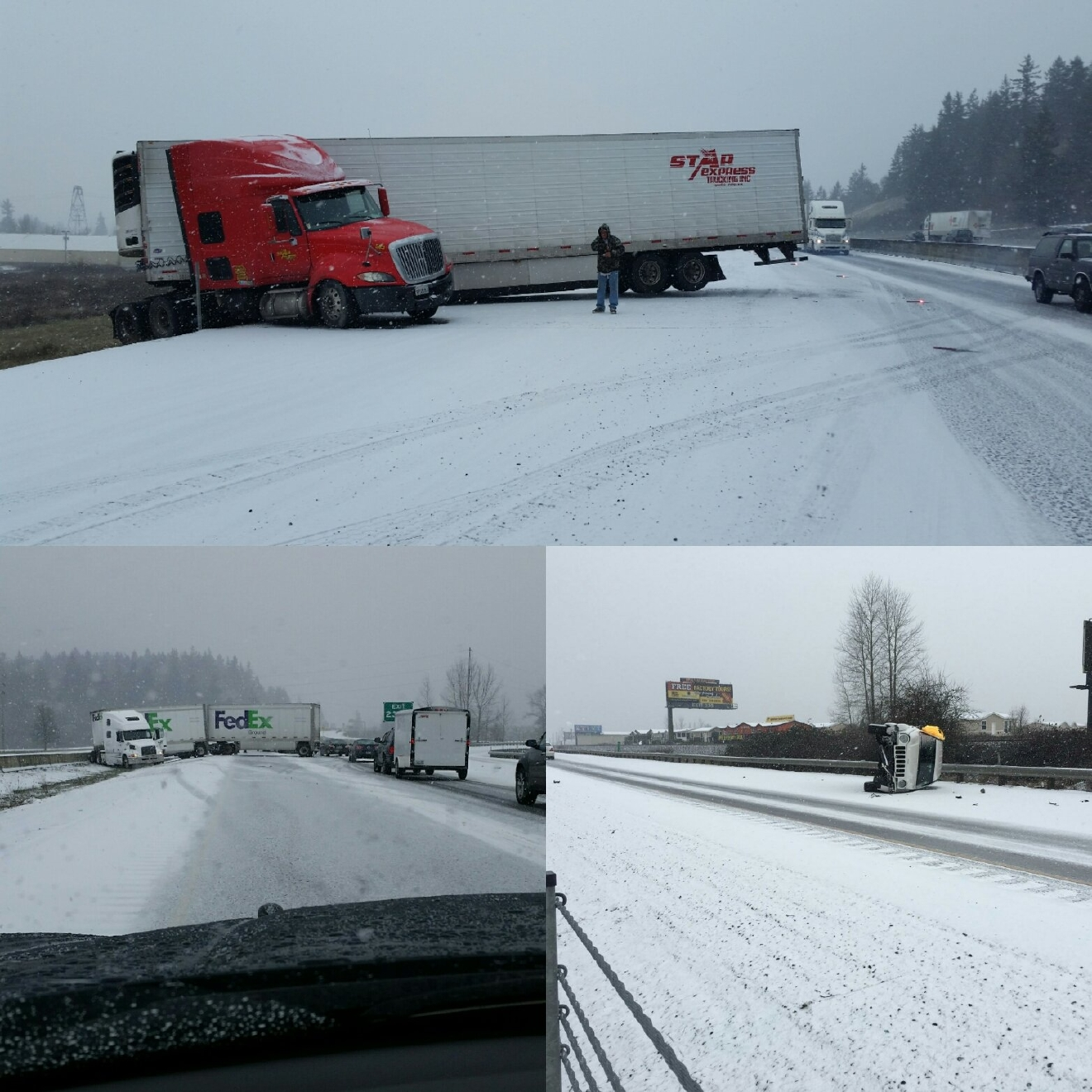 I-5 Albany to Salem via Oregon State Police.