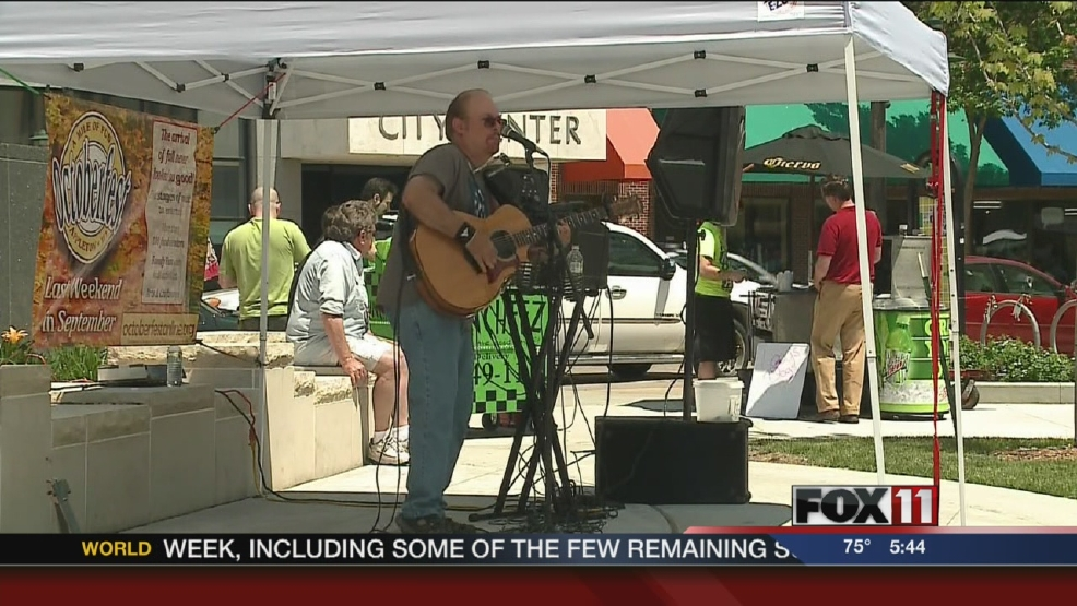 Appleton's Lunchtime Live concert series starts