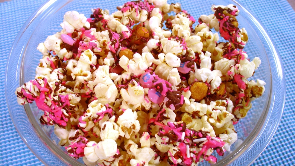 Pink Party Popcorn