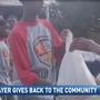 Mark Barron Gives Back to Hometown for the Holidays