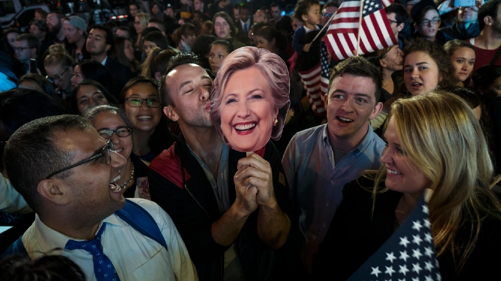 PHOTOS: America celebrates, mourns as Election Night continues