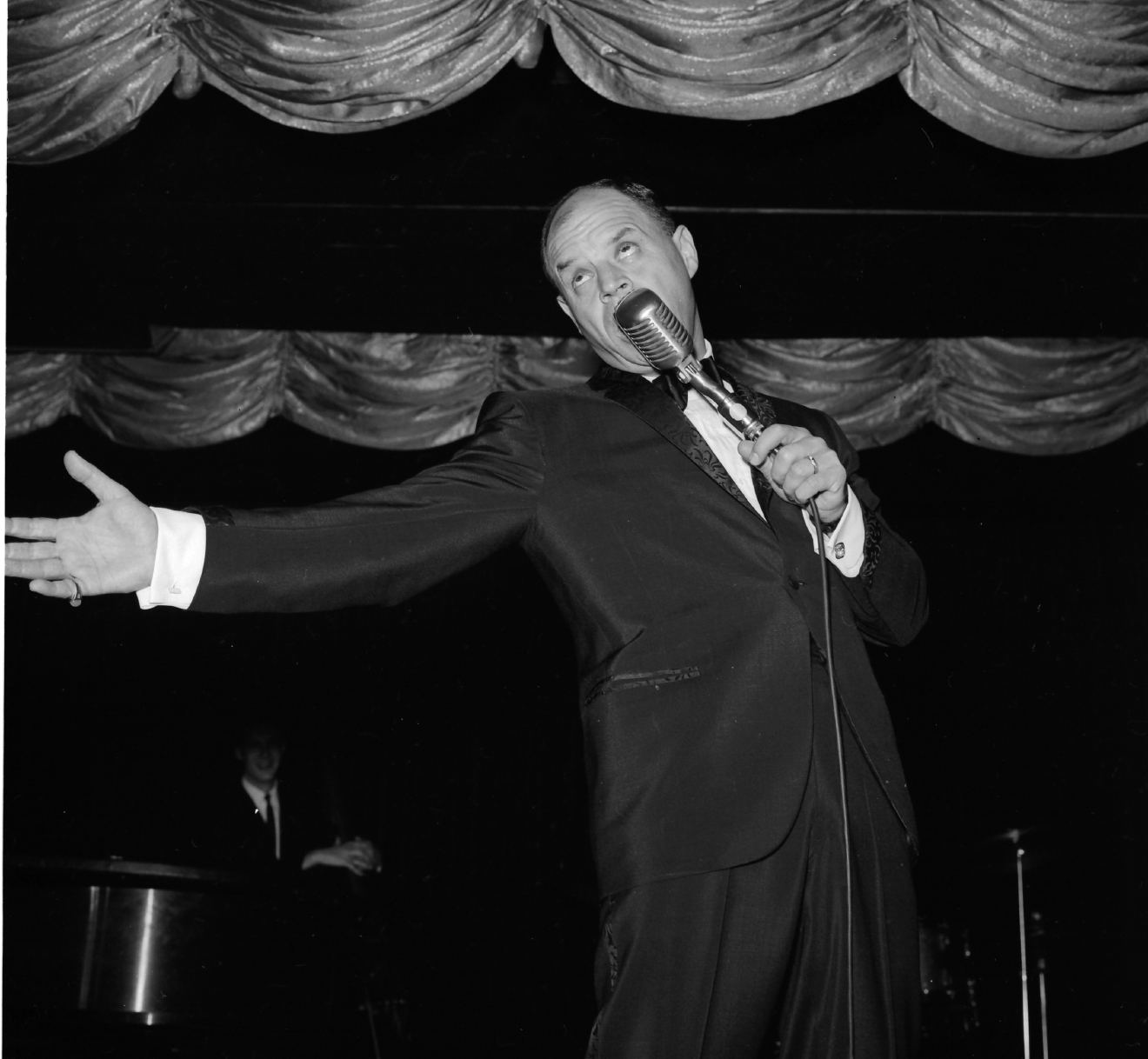 Don Rickles at the Sahara on April 20, 1965. [Las Vegas News Bureau file photo]