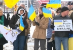 Ukraine Supporters in Green Bay