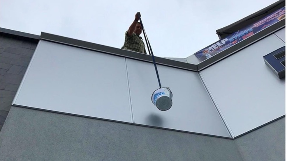 If it's September, Kevin is on a roof to raise money for STRIVE