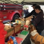 Lane Fire Authority hosts food and toy drive for rural area families