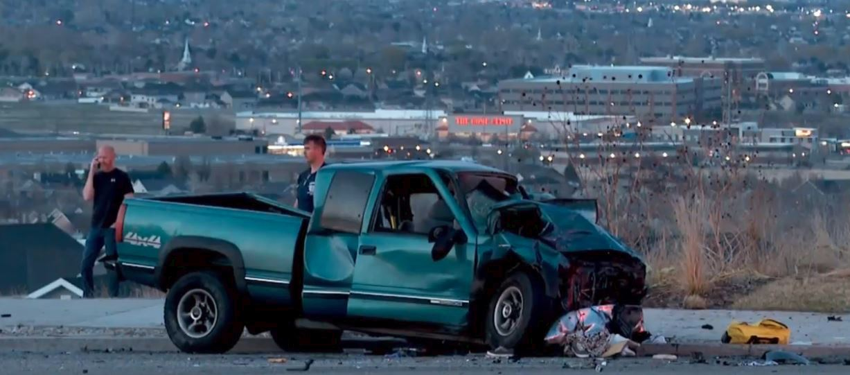 A Herriman city neighborhood is calling for serious safety changes to an intersection after another deadly accident happens there. (Photo: Andrew Ambli / KUTV)<p></p>