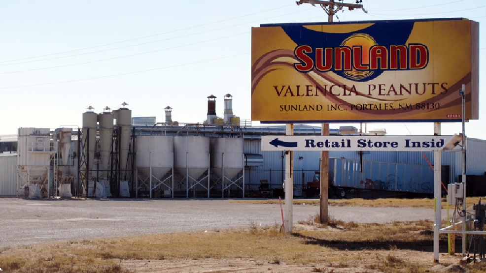 File-This Nov. 27, 2012 file photo shows the Sunland Inc. peanut butter and nut processing plant in eastern New Mexico, near Portales. Nearly a million jars of peanut butter are being dumped at a New Mexico landfill to expedite the sale of Sunland Inc. the bankrupt peanut-processing plant that was at the heart of a 2012 salmonella outbreak and nationwide recall. (AP Photo/Jeri Clausing)